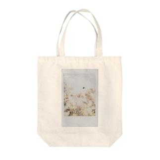 二重露光のポラロイド01 Tote bags