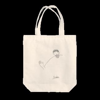 なっとう@カヘロケールの幸男くんの肩幅 Tote bags