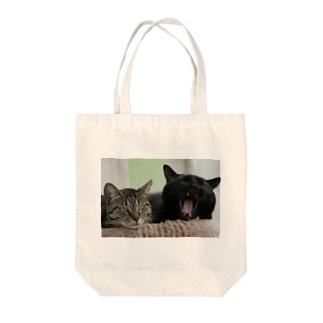 ヴィヴィ&はな Tote bags