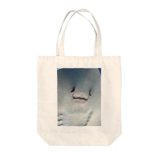 ボク、エイです Tote bags