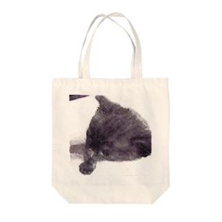 『黒仔猫ココア』 Tote bags
