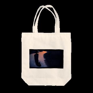 sig / hikaru shibusawaの夕星 Tote bags