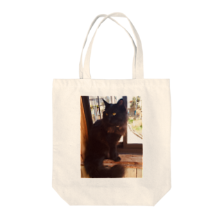 xian_dtmのクールなくろねこ Tote bags