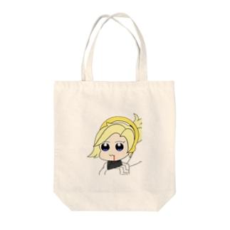 マーシー〜ポプテ風味〜 Tote bags