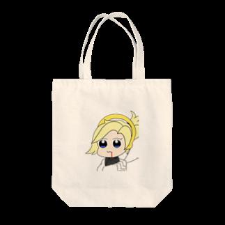 AkinoAliceのマーシー〜ポプテ風味〜 Tote bags