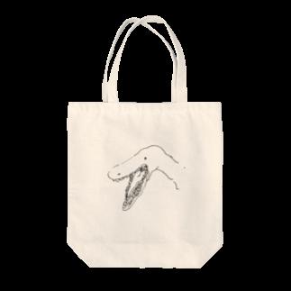 かまなの恐竜くん Tote bags
