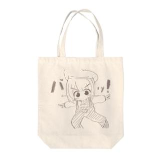 インスタを食す女の子 Tote bags