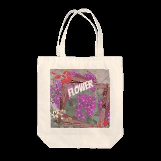 あいあいのflower Tote bags