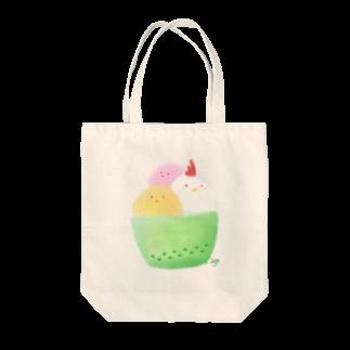 のほほん日和のコッコアイス Tote bags