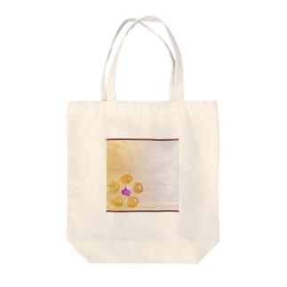ginkgo sugar flower Tote bags