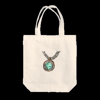 魚風商店の涼やかネックレス Tote bags
