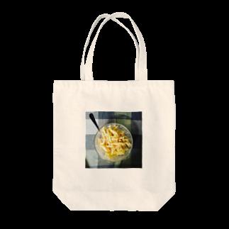 食卓のうちの食卓 チーズマカロニ Tote bags