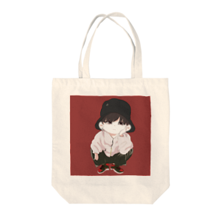 spellのペリン君グッズ Tote bags