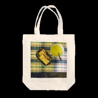 食卓のうちの食卓 ホットサンド Tote bags