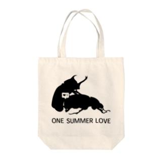 ひと夏の恋 Tote bags