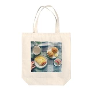 うちの食卓 ロールパン Tote bags