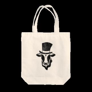 Mattyanの牛が良き(dark) Tote bags