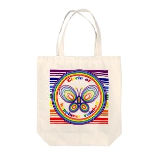 CHR butterfly Tote bags