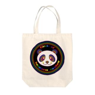 CHR black panda Tote bags
