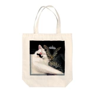 おでん姫とむーんさん Tote bags