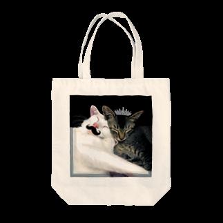 こばぶ〜/KOBABOOのおでん姫とむーんさん Tote bags