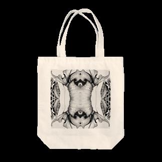 KALYAのsymmetry Tote bags