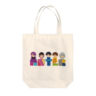 ANTLRロゴ+イラスト Tote bags