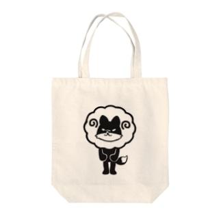 ひつじどうぶつ(きつね) Tote bags