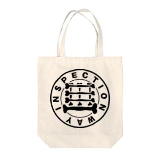 検査路(骨構造) Tote bags