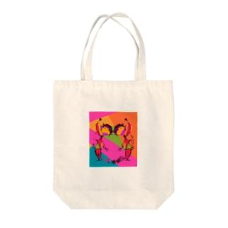 ∞の色 Tote bags