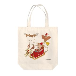 メープルサンタとクリスマス Tote bags