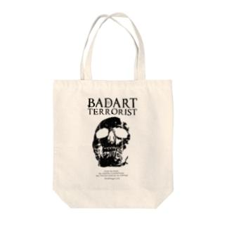 BATSKULL Tote bags