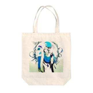 青錆 Tote bags