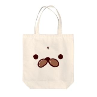 どあっぷバフちゃん Tote bags