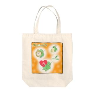 HAPPY LEAFⅡ Tote bags