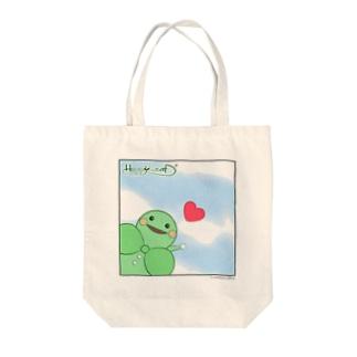 HAPPY LEAFⅠ Tote bags