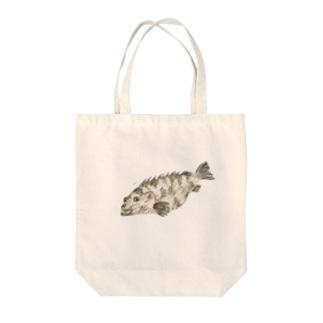 ヤイトハタちゃん Tote bags