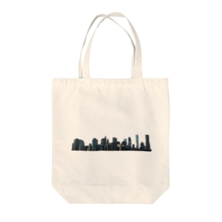 Shape of NY Tote bags