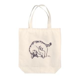ちびタフ Tote bags