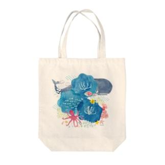 uminohana-トートバッグ Tote bags
