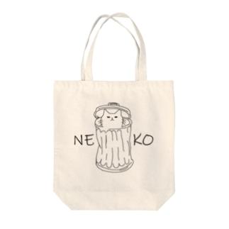 猫イラスト Tote bags