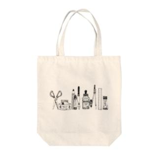 おばけがひそむ文房具 Tote bags