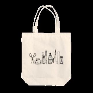 まうらのおばけがひそむ文房具 Tote bags