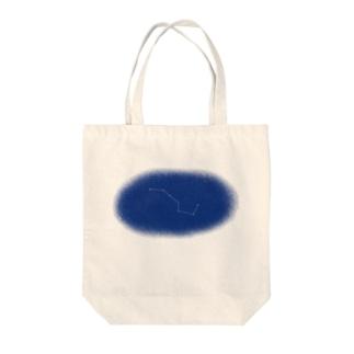 夜空をキリトル『北斗七星』 Tote bags