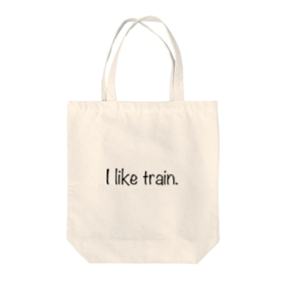I like train Tote bags