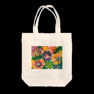 mowayのfloway Tote bags