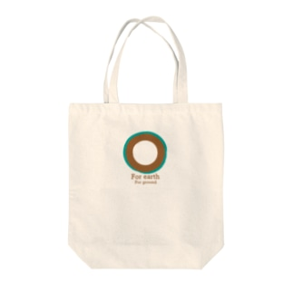 For earth For ground Tote bags