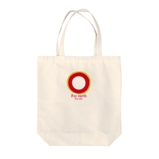 For earth For life Tote bags