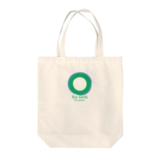 For earth For green Tote bags
