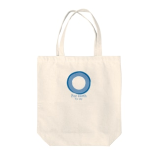 For earth For sky Tote bags